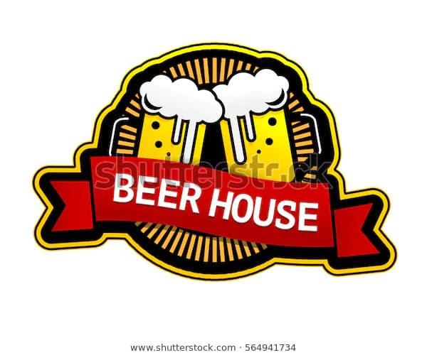 Доверяют пивной дом логотип вектор этикетка 600w 564941734